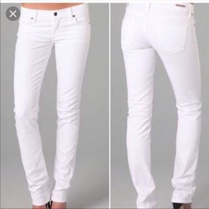 Citizens of humanity white Ava low rise jean 29